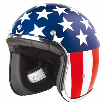 Casque Jet Stormer Pearl US