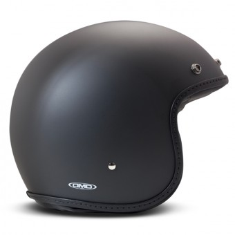 Casque Jet Dmd Pillow Leather Nero Opaco