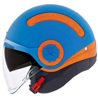 Casque Jet Nexx SX.10 Fun Collection Blu Opaco