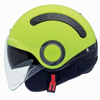 Casque Jet Nexx SX.10 Switx Giallo Neon