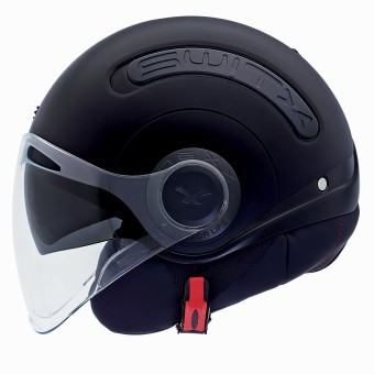 Casque Jet Nexx SX.10 Switx Nero Opaco