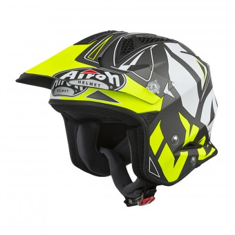 Casque Jet Airoh TRR S Convert Giallo