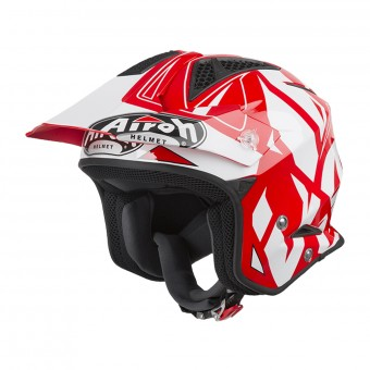 Casque Jet Airoh TRR S Convert Rosso