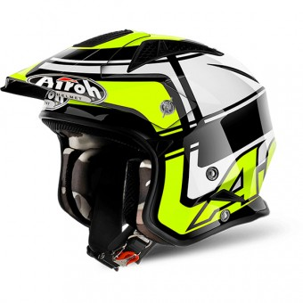 Casque Jet Airoh TRR S Vintage Yellow