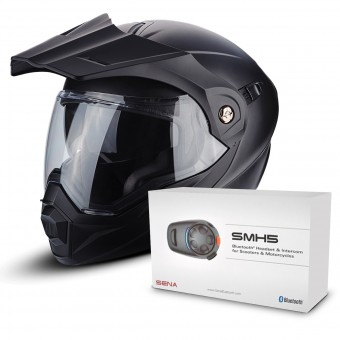 Casque Modulare Apribile Scorpion ADX-1 Matt Black