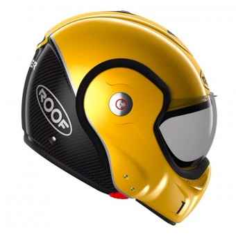Casque Modulare Apribile Roof Boxxer Carbon Yellow