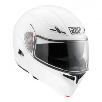 Casque Modulare Apribile AGV Compact ST Vermont White Black Red