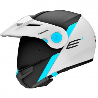 Casque Modulare Apribile Schuberth E1 Gravity Blue