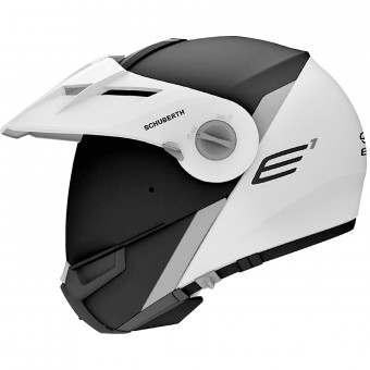 Casque Modulare Apribile Schuberth E1 Gravity Grey
