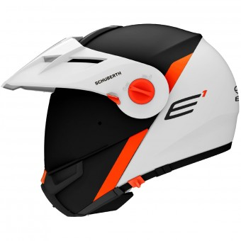 Casque Modulare Apribile Schuberth E1 Gravity Orange