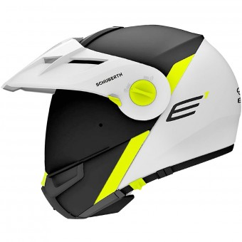 Casque Modulare Apribile Schuberth E1 Gravity Yelllow