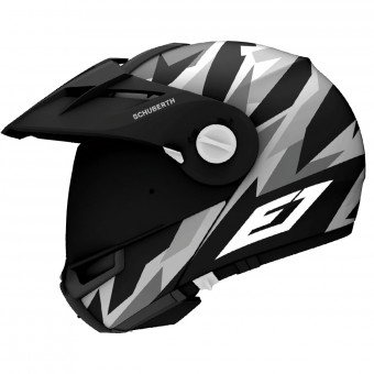 Casque Modulare Apribile Schuberth E1 Rival Grey