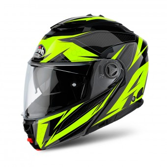 Casque Modulare Apribile Airoh Phantom S Evolve Yellow