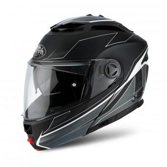 Casque Modulare Apribile Airoh Phantom S Spirit Black Matt