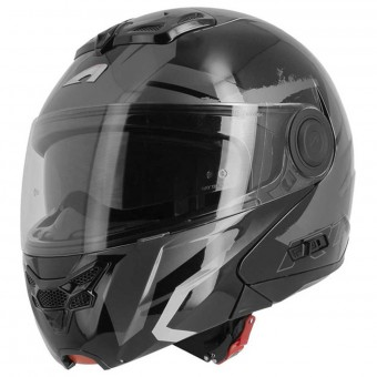 Casque Modulare Apribile Astone RT 800 Crossroad Energy Black Gunmetal White