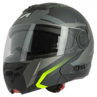 Casque Modulare Apribile Astone RT 800 Crossroad Energy Matt Black Yellow