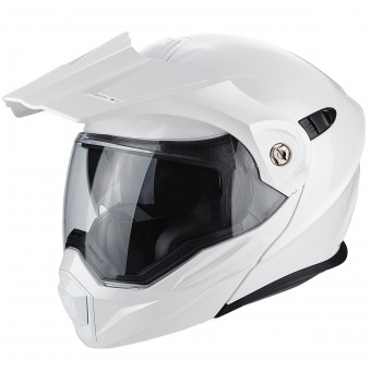 Casque Modulare Apribile Scorpion ADX-1 White