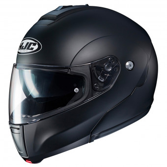 Casque Modulare Apribile HJC C90 Semi Flat Black