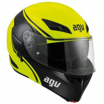 Casque Modulare Apribile AGV Compact ST Course Yellow