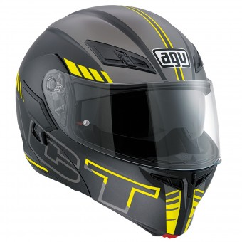 Casque Modulare Apribile AGV Compact ST Seattle Matt Yellow Fluo