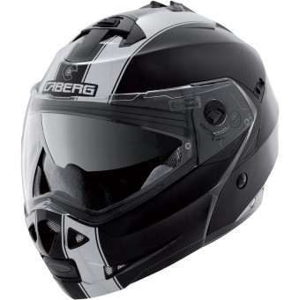Casque Modulare Apribile Caberg Duke II Legend Black White