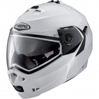Casque Modulare Apribile Caberg Duke II Metal White