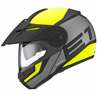 Casque Modulare Apribile Schuberth E1 Guardian Yellow Fluo