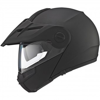 Casque Modulare Apribile Schuberth E1 Matt Black