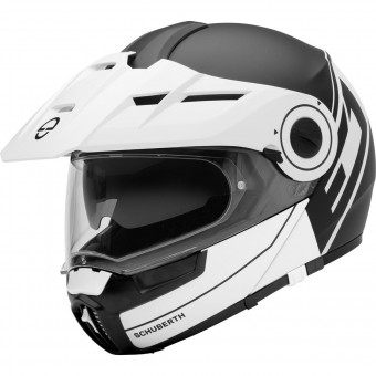 Casque Modulare Apribile Schuberth E1 Radiant White