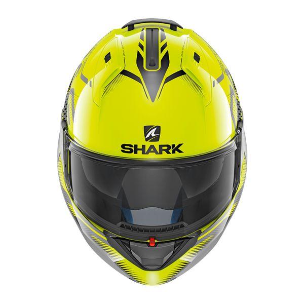 Taglia M Shark Casco Moto evo-one 2/Hi-Visibility YKY Giallo
