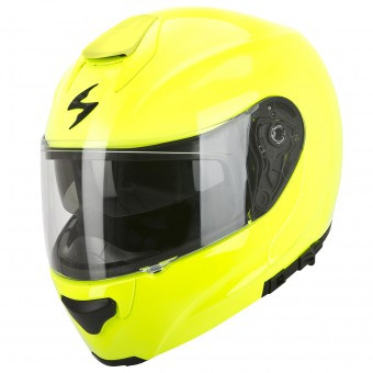 Casque Modulare Apribile Scorpion EXO 3000 Air Giallo Fluo