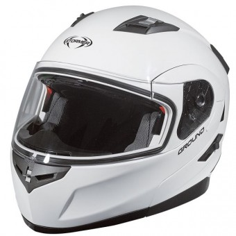 Casque Modulare Apribile Stormer Ground Bianco