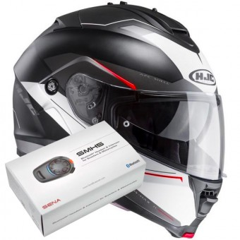 Casque Modulare Apribile HJC IS-MAX II Magma MC1SF