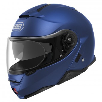 Casque Modulare Apribile Shoei Neotec II Matt Blue Metal
