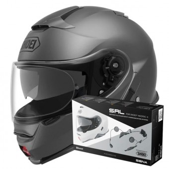 Casque Modulare Apribile Shoei Neotec II Matt Deep Grey