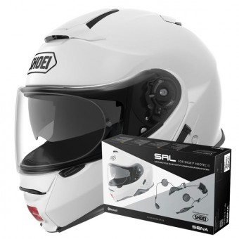 Casque Modulare Apribile Shoei Neotec II White