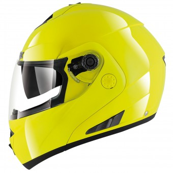 Casque Modulare Apribile Shark Openline Prime Hi-Vis YKY Pinlock