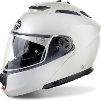 Casque Modulare Apribile Airoh Phantom S White