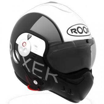 Casque Modulare Apribile Roof Boxer V8 Graphic Bianco Perlaceo