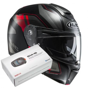 Casque Modulare Apribile HJC RPHA 90 Tanisk MC6HSF