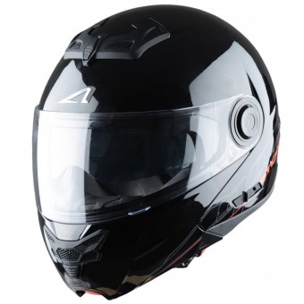 Casque Modulare Apribile Astone RT 800 Black