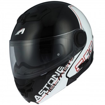Casque Modulare Apribile Astone RT 800 Linetek Red White