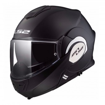 Casque Modulare Apribile LS2 Valiant Solid Matt Black FF399