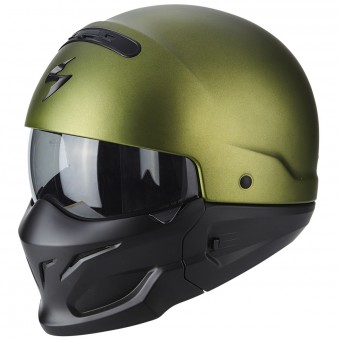 Casque Modulare Crossover Scorpion Exo Combat Matt Green