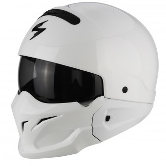 Casque Modulare Crossover Scorpion Exo Combat White
