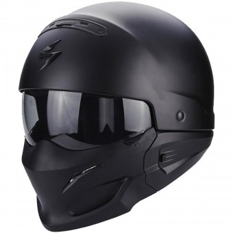 Casque Modulare Crossover Scorpion Exo Combat Matt Black