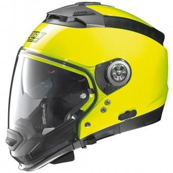 Casque Modulare Crossover Nolan N44 Evo Hi-Visibility N-Com Fluo Yellow 12