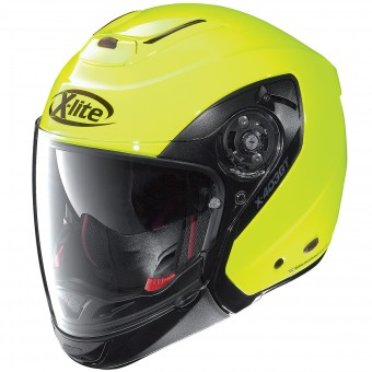 Casque Modulare Crossover X-lite X-403 GT Hi-Visibility Fluo Yellow 9