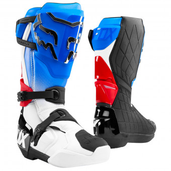 Stivali Cross FOX Comp R Boot Blue Red