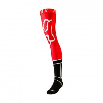 Calzini Cross FOX Knee Brace Flame Red